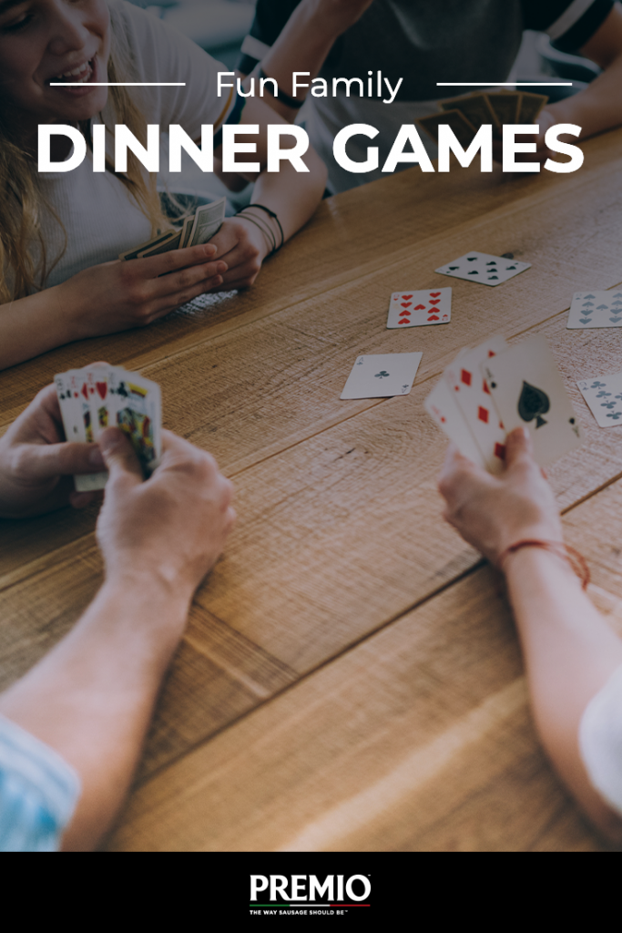 Fun Family Dinner Games