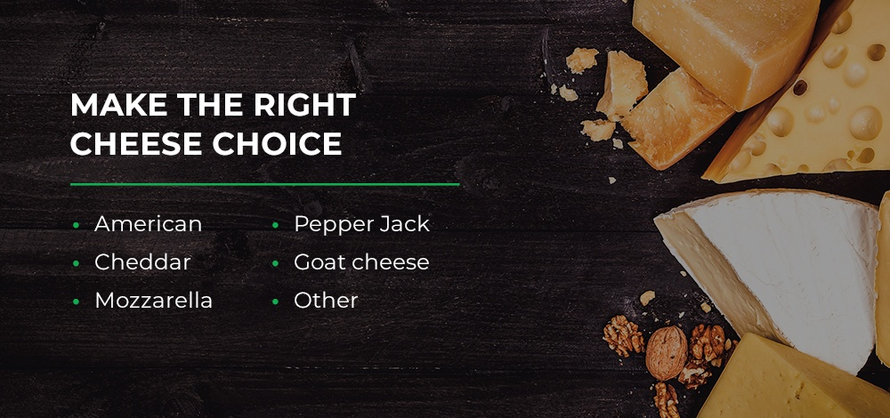 Cheese Choices for Grilled Cheese