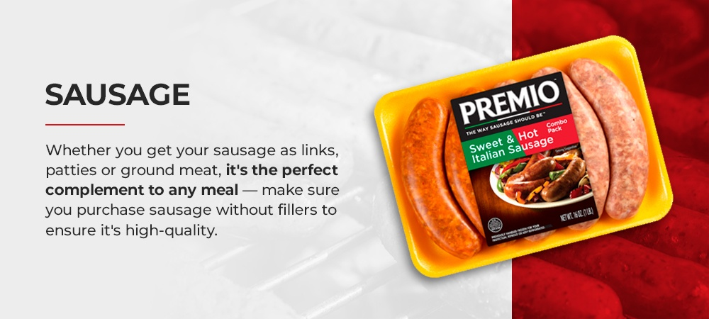 Stock Sausage in Your Freezer