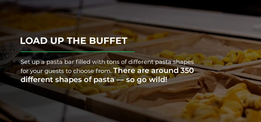 Pasta Buffet