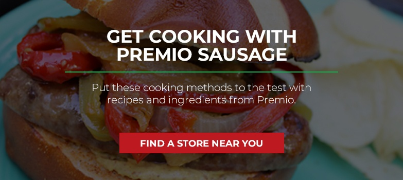 Get Cooking with Premio Sausage