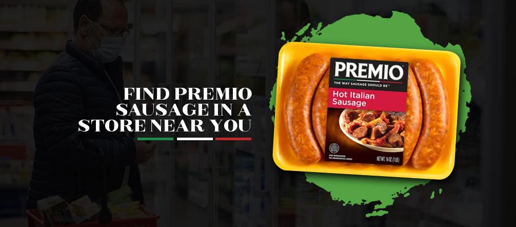 Find Premio Sausage in a Store Near You
