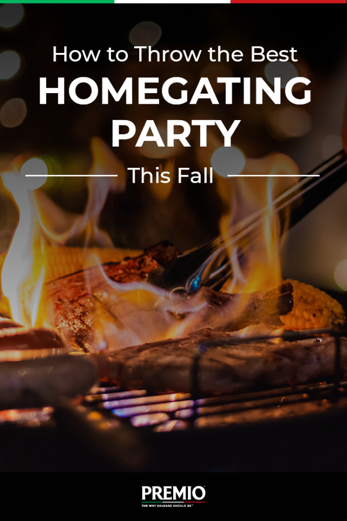 How to Throw the Best Homegating Party