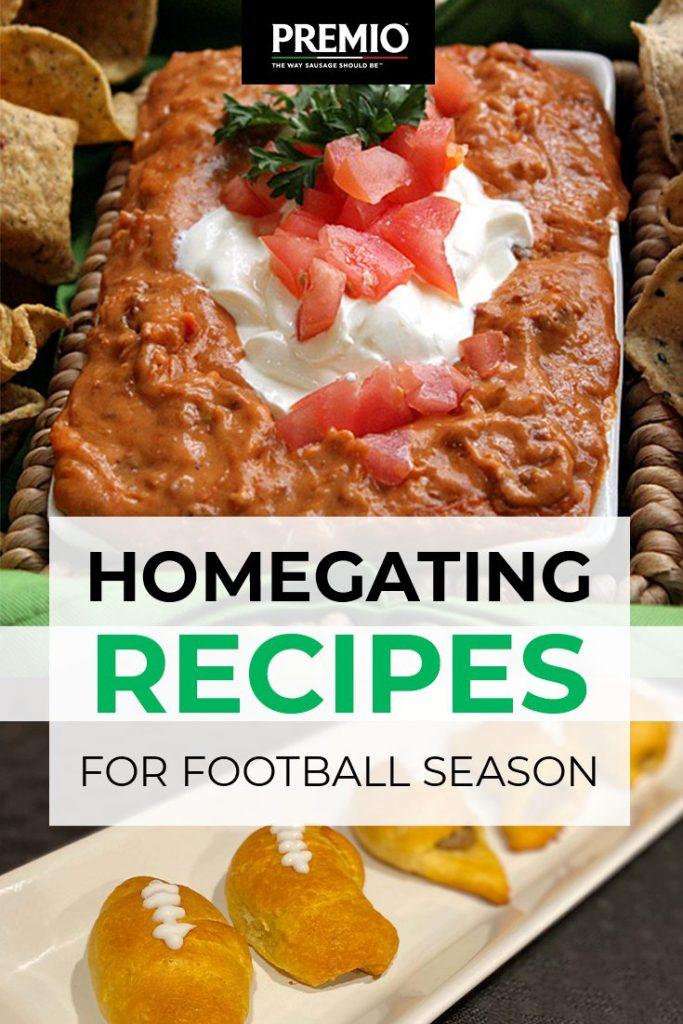 4 Homegating Recipes for Football Season