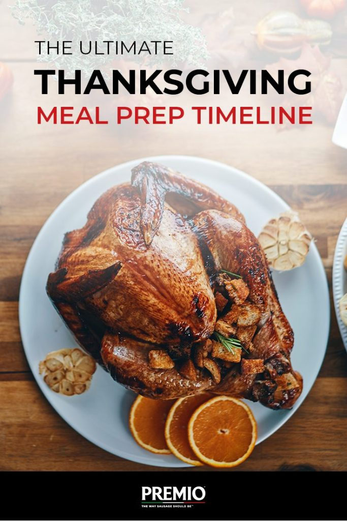 The Ultimate Thanksgiving Meal Prep Timeline