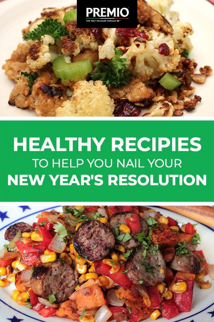 Healthy Recipes to Help Nail Your New Year's Resolution