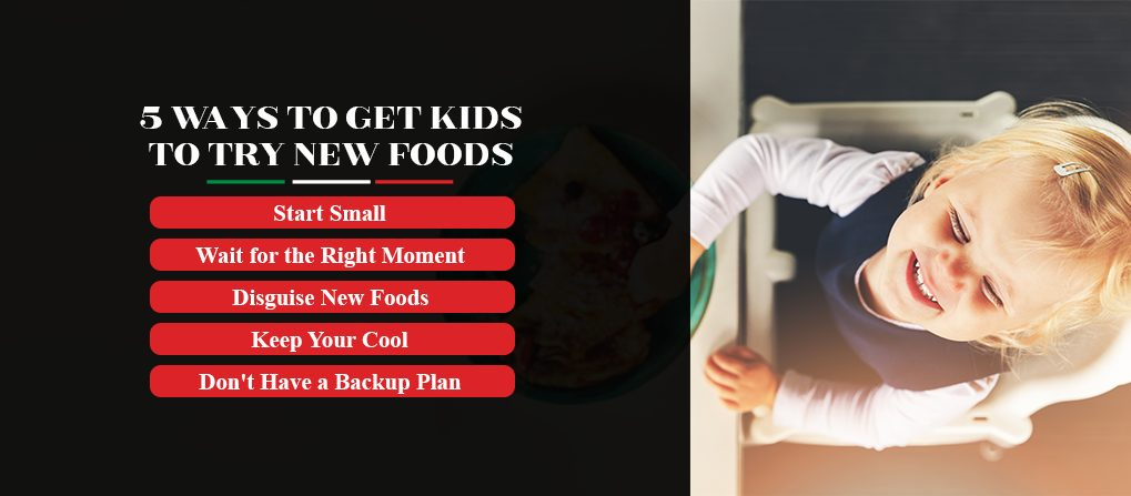 ways to get kids to try new foods