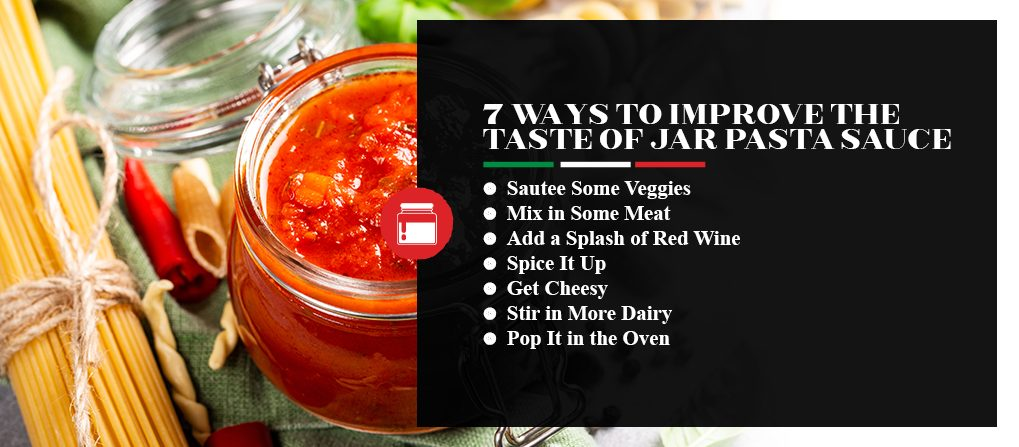 7 Ways to Improve the Taste of jar Pasta Sauce
