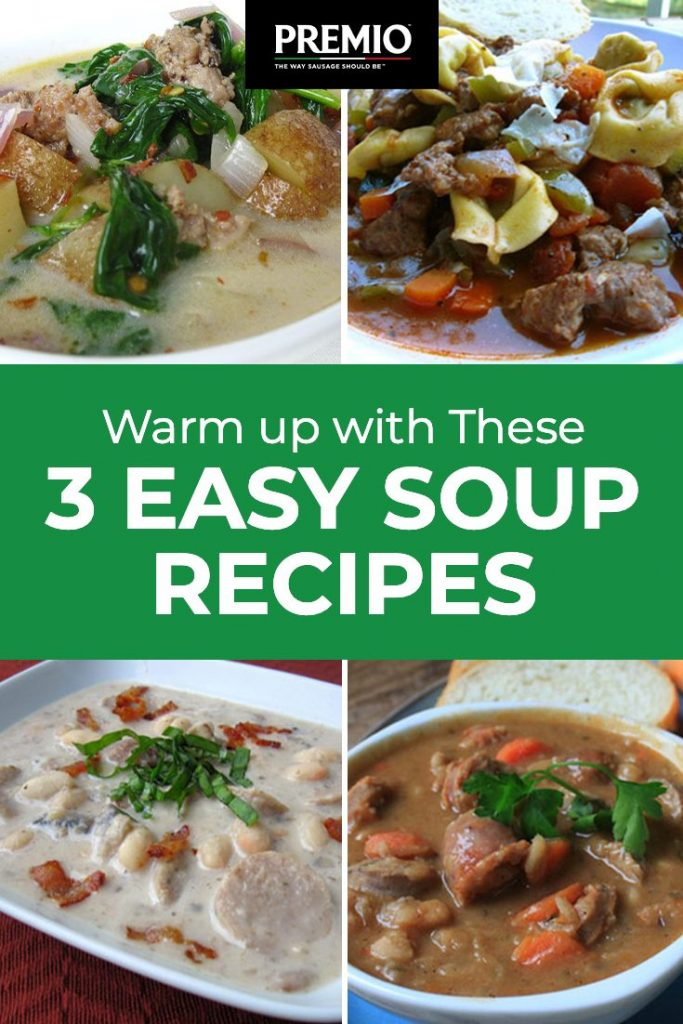 3 Easy Soup Recipes