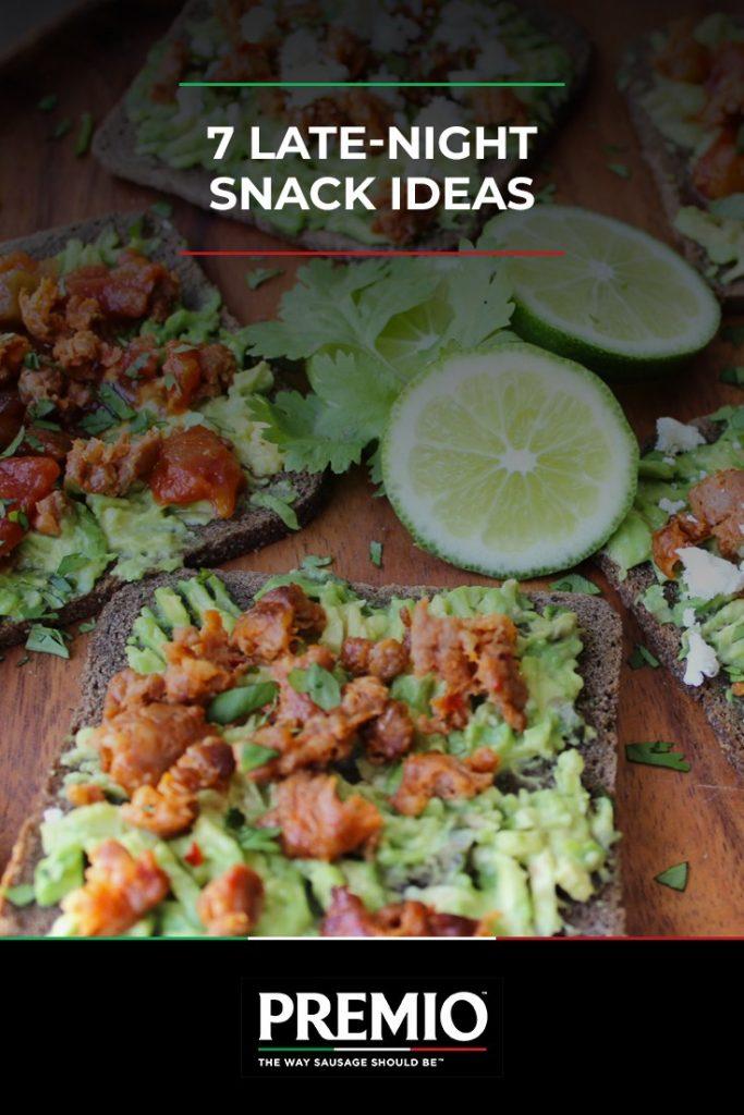 7 late night snack ideas