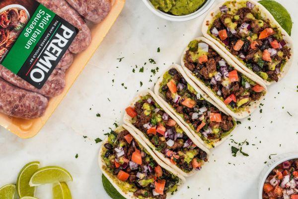 Black Bean Chorizo Tacos