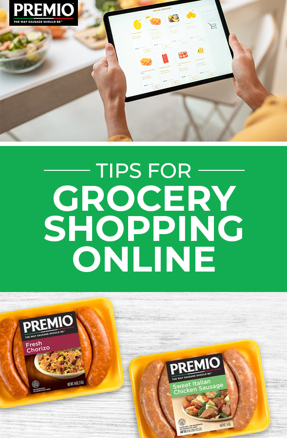 Tips for Grocery Shopping Online