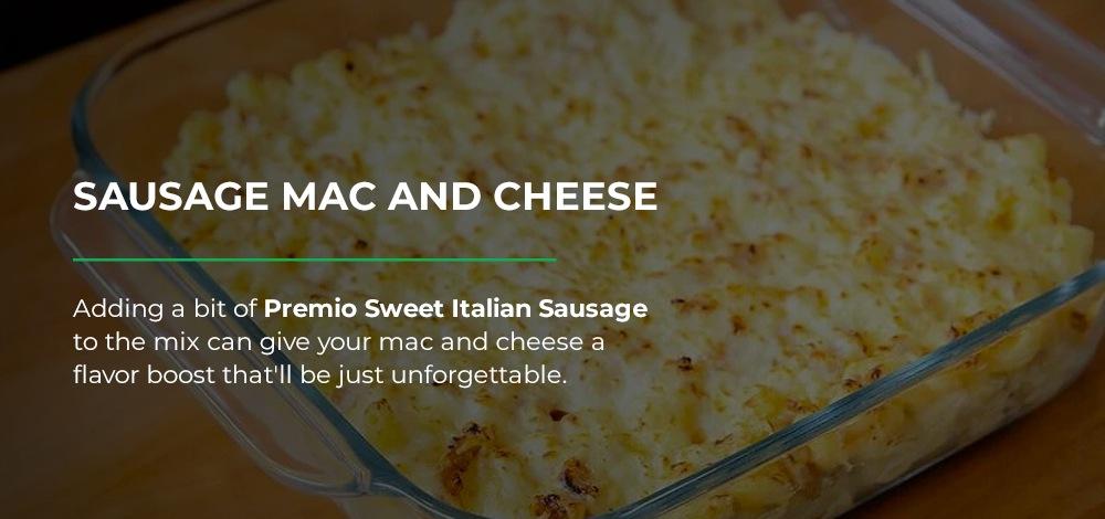 Sausage Mac and Cheese