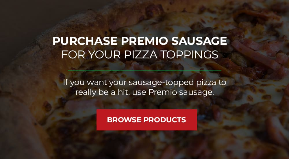 Premio Sausage for Pizza Toppings