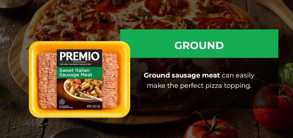 ground sausage