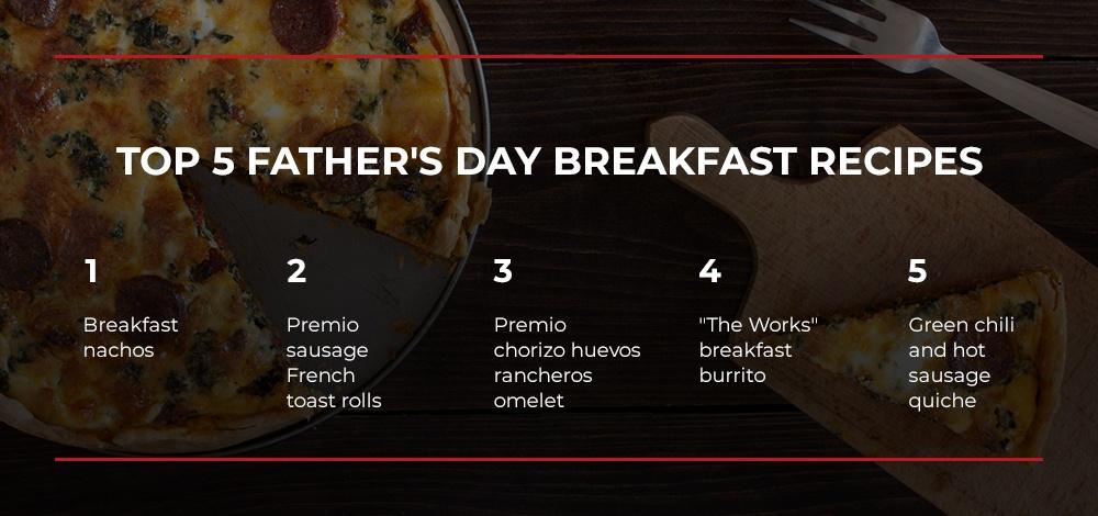 Top 5 fathers day breakfast ideas premio
